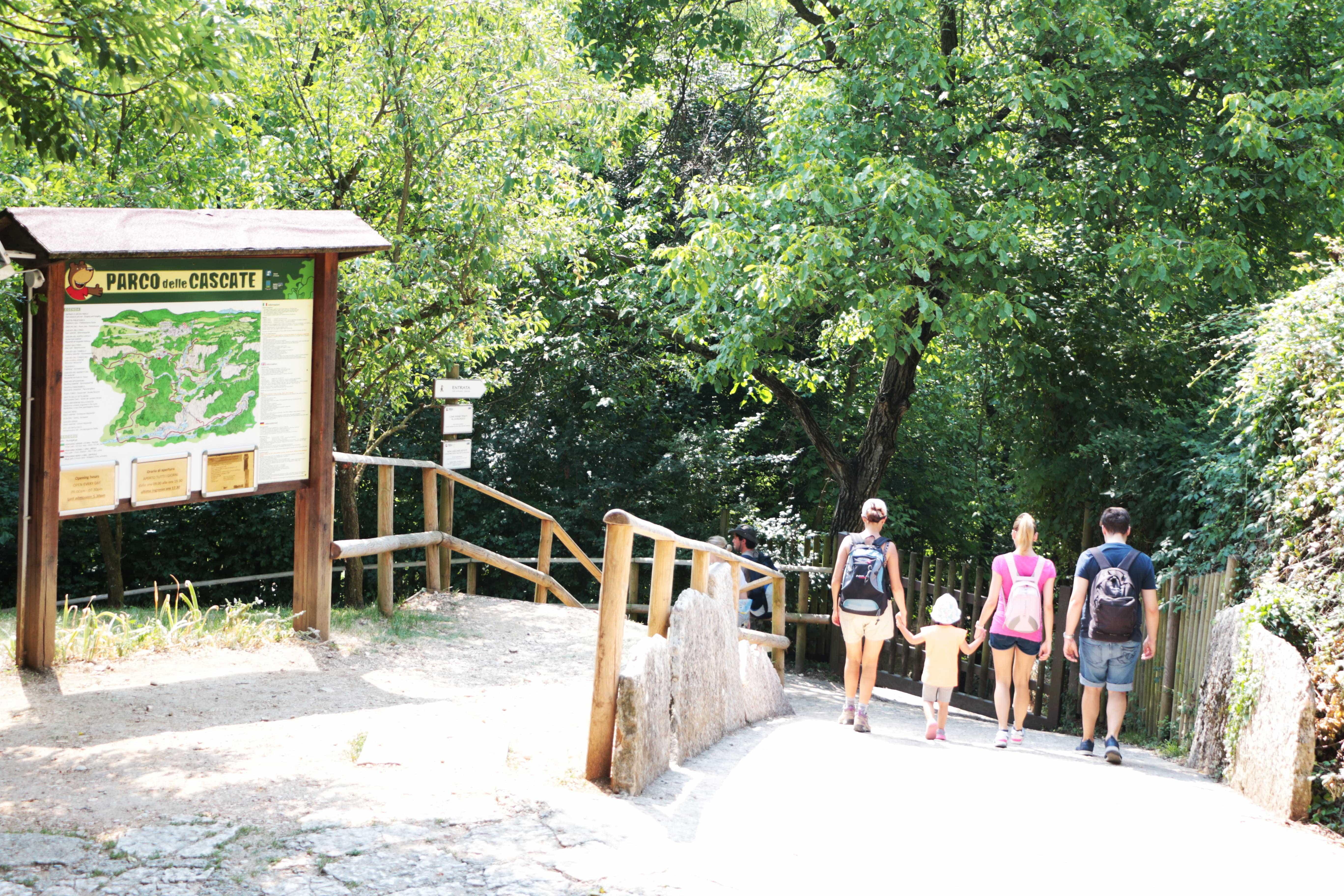 Parco delle cascate di Molina: una gita fuori porta per tutta la famiglia
